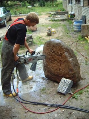 Чем резать камень в домашних условиях 465